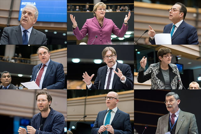MEPs give their views on measures to tackle terrorism by European Parliament (CC BY-NC-ND 2.0)